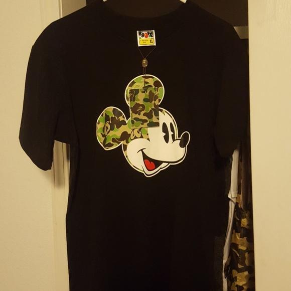 8dc2d6e6 Bape Shirts | Tee Large | Poshmark